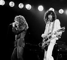220px jimmy page with robert plant 2 led zeppelin 1978